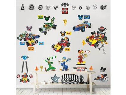 Sada dekoračných samolepiek na stenu - Mickey Mouse