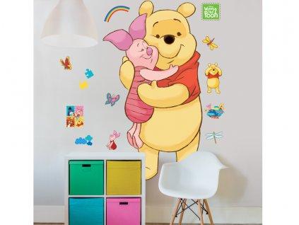 Nálepky na stenu - Macko Pú - Disney