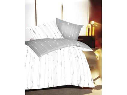 Luxusné saténové obliečky Cocoon Schiefer