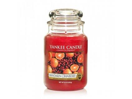 Vonná sviečka Yankee Candle - Mandarin cranberry
