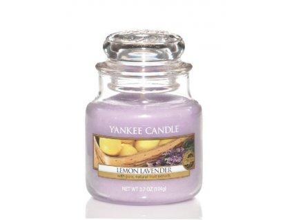 Vonná sviečka Yankee Candle - Lemon lavander