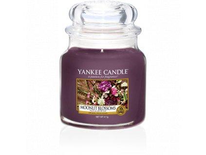 Vonná sviečka Yankee Candle - Moonlit blossom
