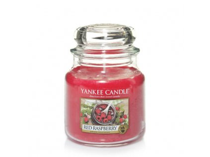Vonná sviečka Yankee Candle - Red raspberry