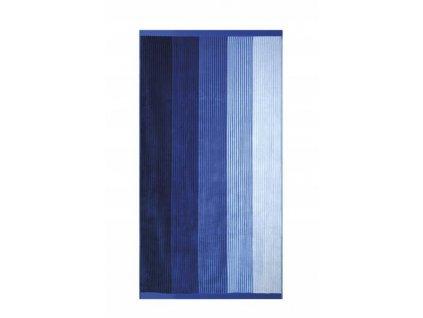 Plážová froté osuška Blue Stripe - 90x170cm