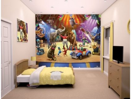 3D tapeta na stenu Cirkus - 244x305cm