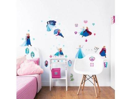 Sada dekoračných samolepiek Frozen