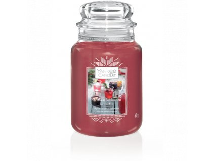 Vonná sviečka Yankee Candle - Christmas celebration