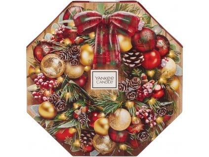Adventný kalendár s čajovými sviečkami Yankee Candle