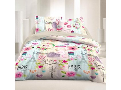 Bavlnené obliečky Paris Mon Amour