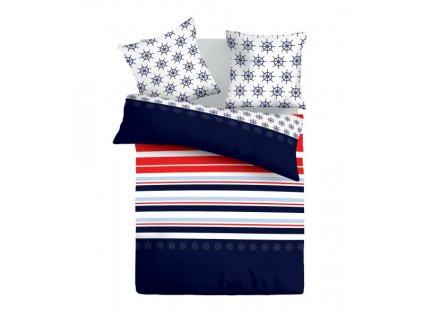 Bavlnené obliečky Navy