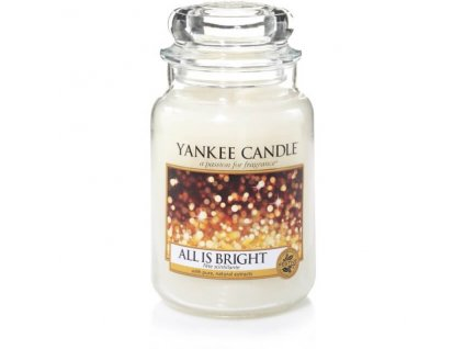 Vonná sviečka Yankee Candle - All is bright