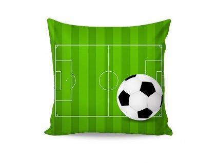 Futbalová obliečka na malý vankúšik - 40x40cm + zips - Matějovský