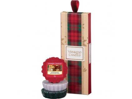 Vianočný set 3x vonný vosk