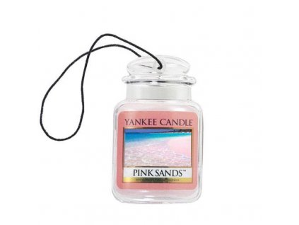 Vôňa do auta Yankee Candle Pink sands