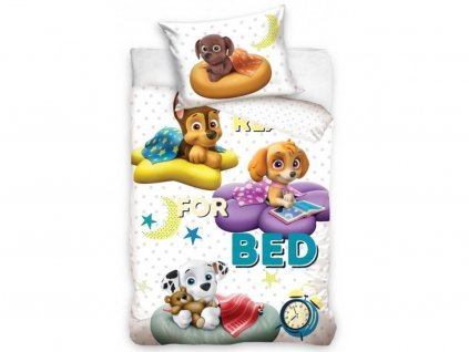 obliecky paw patrol read for bed