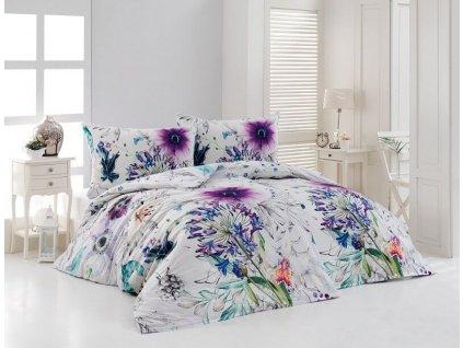Obliečky s kvetinovým vzorom Vivien