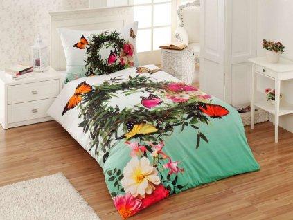 3D obliecky bavlnene kvety a motyle gabonga
