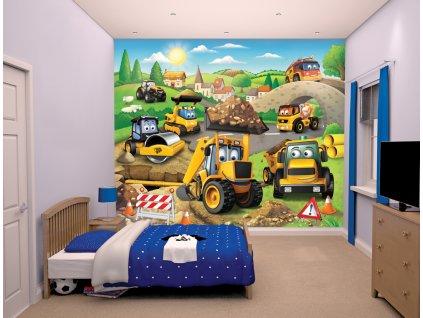 3D tapeta na stenu Báger - 244x305cm