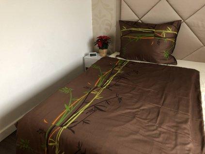 Hnede satenove obliecky bamboo gabonga 2