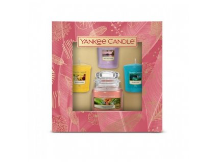 darcekova sada 3x sampler + malá sviečka yankee candle