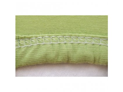 Strieborná plachta na posteľ Jersey - rôzne veľkosti