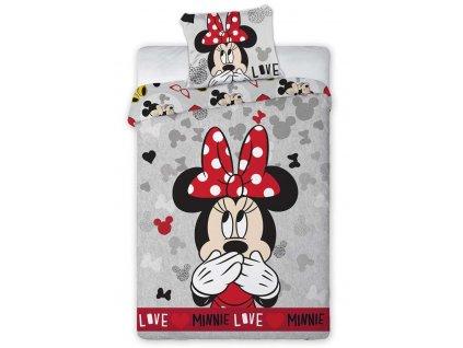 Disney obliečky Minnie Tajná láska
