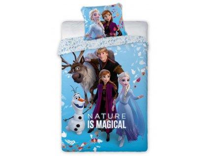 Detské obliečky Frozen Magická príroda