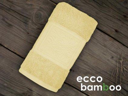 uterak ecco bamboo zlty greno