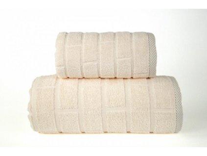 Bavlnená osuška Brick krémová