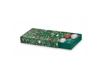 vianocny set zeleny yankee candle