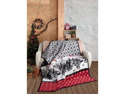 vianočná deka carol matejovsky