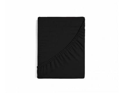 Čierna plachta z bavlneného saténu - rôzne veľkosti