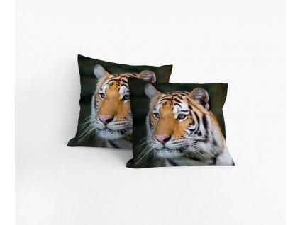 Obliečka bavlnená Tiger 40x40cm