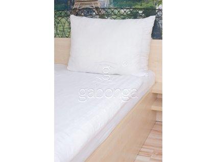 Biele jednofarebné obliečky z viskózy AMIDO-EXQUISIT