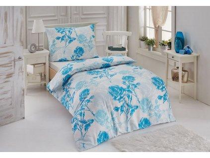 Bambusové obliečky s kvetinovým vzorom Night In Colours - Sirena