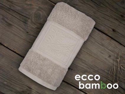 Ľanový uterák Ecco bamboo - 50x90cm