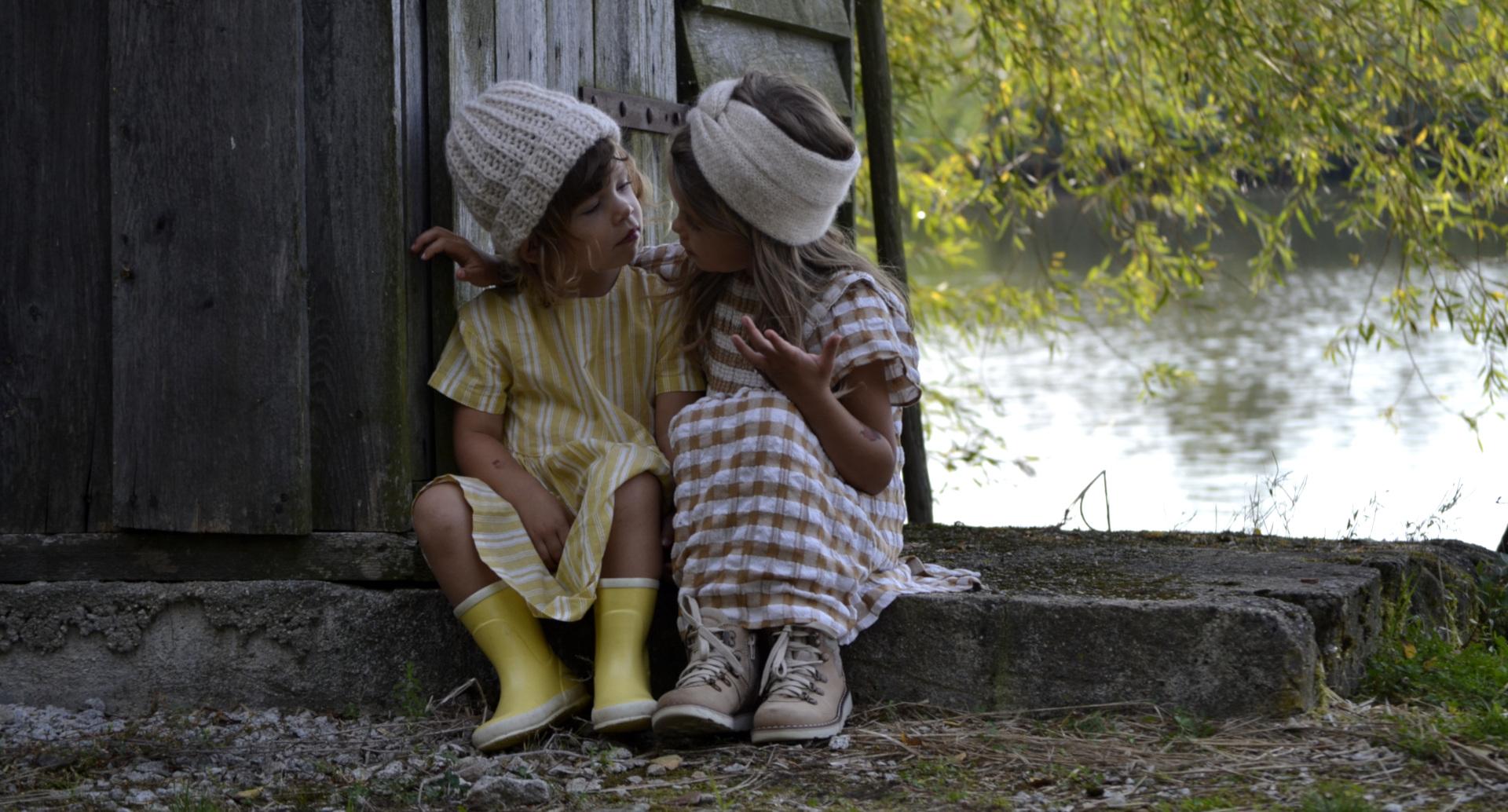 pletené a háčkované novinky pro děti