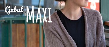 gabul maxi, pletené a háčkované výrobky pro dospělé