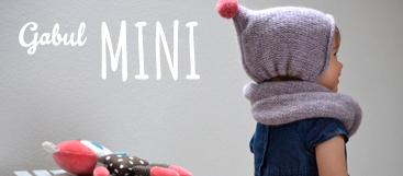 Gabul Mini, pletené a háčkované výrobky pro děti