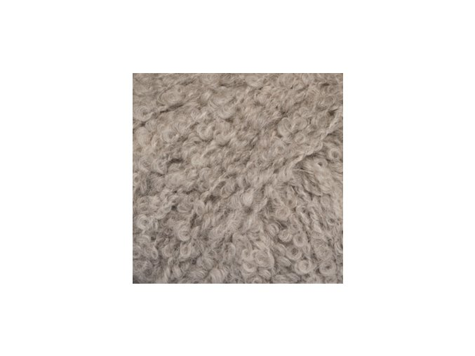 Alpaca bouclé 5110 světlá šedá