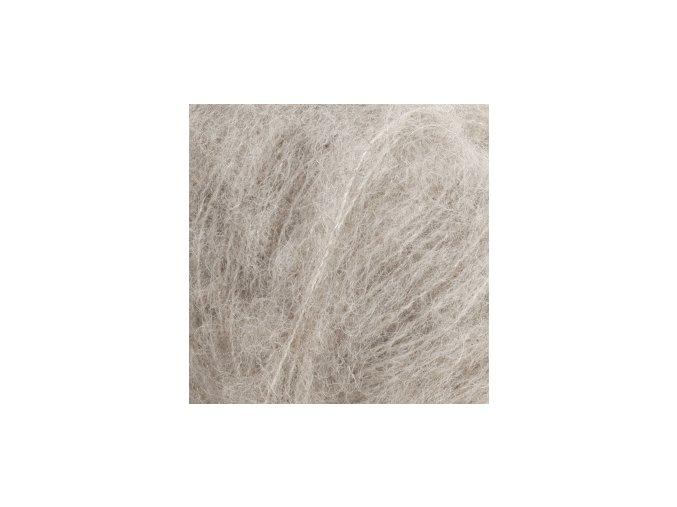 Brushed alpaca 02 světlá šedá