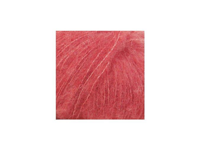 Brushed alpaca 06 korálová