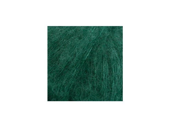 Brushed alpaca 11 tmavá zelená