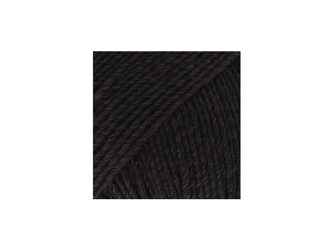 Cotton merino 02 černá
