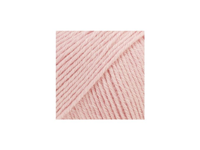Cotton merino 05 světlá růžová