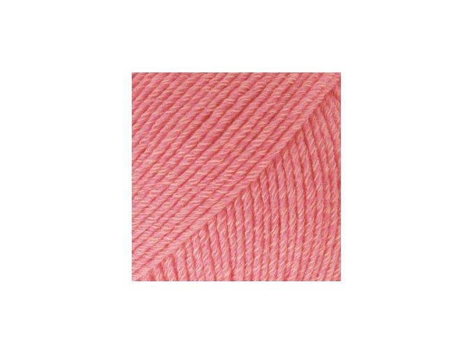 Cotton merino 13 korálová