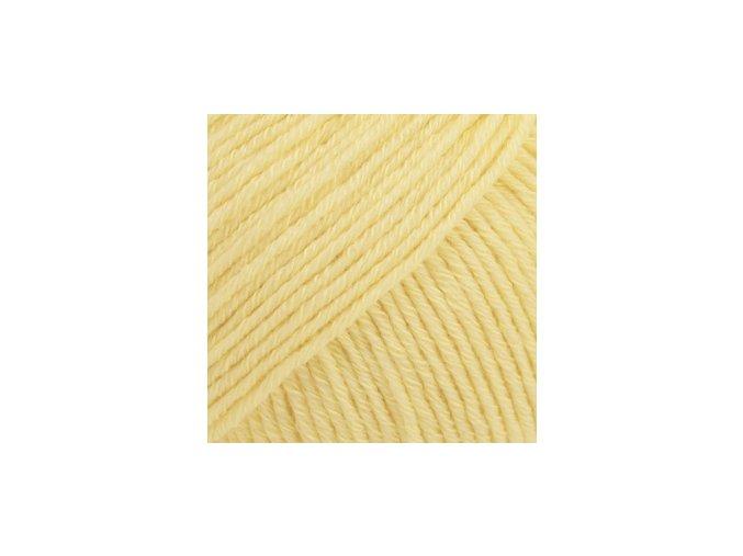Cotton merino 17 vanilková