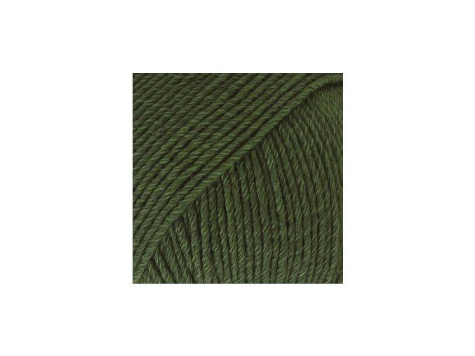 Cotton merino 22 tmavá zelená