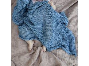 Dětská dečka...modrá