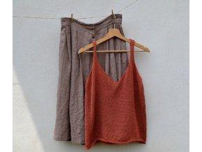 Pletený top